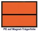 Ziffern-Warntafel, magnetisch, ohne Aufdruck