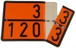 Zweistoff-Aufsatzwechsel-Warntafel 30-1202 / 33-1203