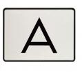 A-Warntafel, magnetisch