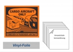 "Label ""Cargo Airkraft only"""
