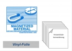 "Label ""Magnetized Material"""