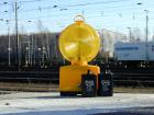 10er-Paket Warnblinkleuchten für Baustellen (gelb)