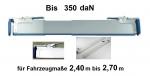 Zwischenwandverschluß 240-270 cm (Standard)