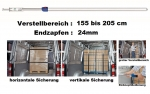 AJ-Sperrbalken 155-205 / 24er-Zapfen