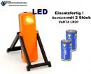 LED-Warnblinkleuchte mit Batterien, einsatzfertig