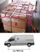 Ladungssicherungs-Netz  für Transporter mit langem Radstand, Maschenweite 20 cm