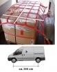 Ladungssicherungs-Netz  für Transporter mittlerer Radstand