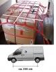 Ladungssicherungs-Netz  für Transporter mittlerer Radstand, Maschenweite 20 cm