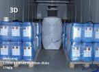 5er-Paket 3D-Luftstaupolster (Mehrwegventil) zur Ladungssicherung