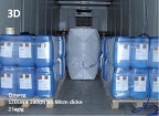 10er-Paket 3D-Luftstaupolster (Einwegventil) zur Ladungssicherung