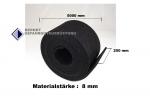 Antirutschmattenrolle 500 x 25 cm / 8mm