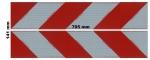 Magnetfoliensatz Container-Kennzeichnung / 4 links + 4 rechts, magnetisch