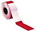 Folienabsperrband  rot/weiß