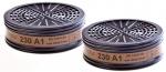 Gasfilter 230 / A1 2er Pack