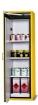 Gefahrstoff-Lagerschrank 600x615 gelb