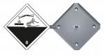 Gefahrzettel-Alu-Box 1 Zettel