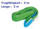 Hebeband mit Endschlaufen 2 to / 2 m