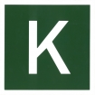 """Hinweisschild """"Kombiverkehr"""" 150x150 Kunststoff"""