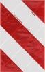 Ladebordwand-Warnmarkierungg rechtsweisend, Halter Aluminium