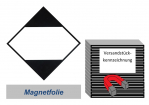 LQ-Kennzeichnung 100x100 magnetisch