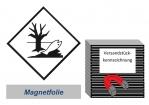 Kennzeichnung 100x100 magnetisch - Umweltgefährdend