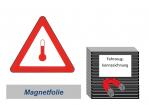 Kennzeichnung 300 magnetisch - erwärmte Stoffe