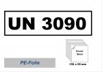 UN-Nummernaufkleber : 3090 / 150x50