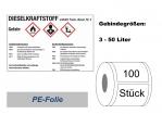 GHS-Kennzeichnung Dieselkraftstoff 105x74