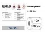 GHS-Kennzeichnung HEIZÖL-EL 105x74