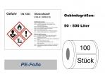 GHS-Kennzeichnung Ottokraftstoff 148x105
