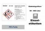 GHS-Kennzeichnung HEIZÖL EL 148x105