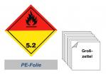 RID Grosszettel 150x150 PE-Folie - Klasse 5.2