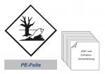 Kennzeichnung 250x250 PE-Folie - Umweltgefährdend