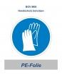 """Gebotsschild """"Handschutz benutzen"""" 200mm"""