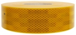 Reflexfolie gelb (hinten + seitlich) für feste Aufbauten