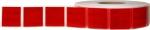Reflexfolie rot (hinten) für Planengewebe