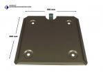Steck-Grundplatte für 300mm Großzettel