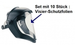 "Visier-Schutzfolien ""Bionic"" - 10er Packung"