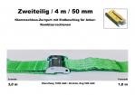 Klemmschloss-Zurrgurt 50mm / 4m (1,0/3,0)