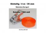 Ratschen-Zurrgurt 1- 35mm / 4m einteilig / 240 daN