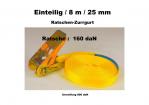 Ratschen-Zurrgurt 1- 25mm / 8m einteilig / 160 daN