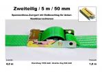 Spannschloss-/Overcenterzurrgurt 50mm / 5m (1,0/4,0)