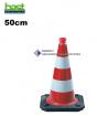 Warnkegel, 500mm hoch, BASt-geprüft