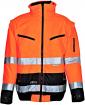 Warnschutzjacke PILOT orange-blau / Größe nach Auswahl