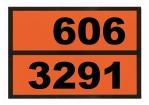 Ziffern-Warntafel, Klebefolie 606/3291, reflektierend