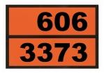 Einschub-Warntafel, Prägung 606/3373