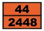 Ziffern-Warntafel, Klebefolie 44/2448, nicht reflektierend