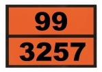 Einschub-Warntafel, Prägung 99/3257