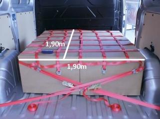 Ladungssicherungs-Netz  für Kleintransporter