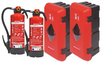 Fahrzeug-Brandschutz-Set ab 7,5 to Aufladelöscher